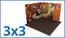 Modulate™ Fabric Exhibition Stands 3m x 3m
