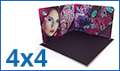 Modulate™ Fabric Exhibition Stands 4m x 4m