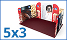 Modulate™ Fabric Exhibition Stands 5m x 3m